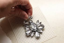 crystal rhinestone necklace images Diy necklace tutorial crystal rhinestones crafts unleashed jpg