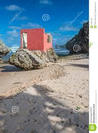 ruined beach house bathsheba barbados stock photo image 44641138