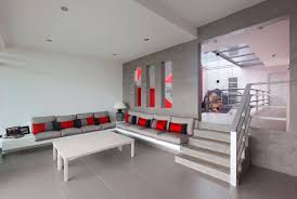 Red And Gray Living Room Living Room Red And Grey Nucdatacom Wall Paint Also Magnificent