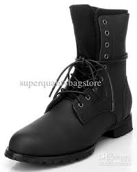 buy boots for genuine leather s ankle boots black lace up outdoor winter