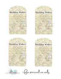 wedding wish tags d designs free printable wedding wishes tags