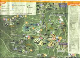 Map Of Cleveland Ohio by Zoo Tails Cleveland Zoo 2011 Map