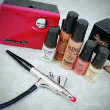 agape love designs luminess air legend airbrush system review