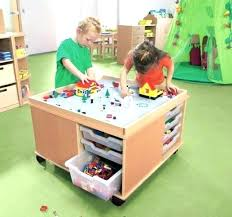 kids play table with storage kids activity table with storage nopasaran