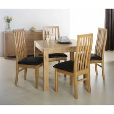Oak Dining Table Chairs Stylish 4 Chair Dining Table Set Kitchen And With Chairs Coxmoor