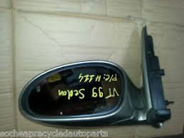 holden commodore vt 1999 model mirror for left hand side paint
