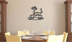 art on walls home decorating wall art 3d metal decor art on walls home decorating teapot tray