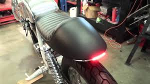 Led Strip Tail Lights by Sr500 Led Signal Strips Youtube