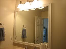 Frames For Bathroom Mirrors Custom Frames For Existing Bathroom Mirrors Www Tapdance Org
