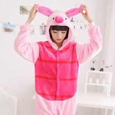 Peppa Pig Halloween Costume Aliexpress Buy Anime Animal Peppa Pig Cartoon Women Men