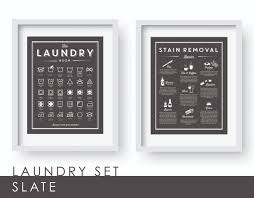 Laundry Room Art Decor by Set U0027the Laundry Room And Stain Removal Basics U0027 Clean