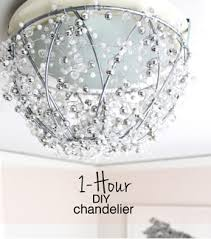 Beaded Chandelier Diy Diy Chandelier