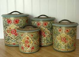 tin kitchen canisters 127 best canisters images on canister sets boxes and