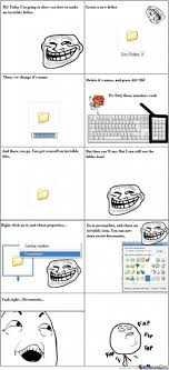 Meme Folder - how to create an invisible folder by ben meme center