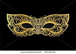 black and gold masquerade masks masquerade mask stock images royalty free images vectors