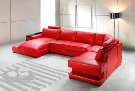beautiful red leather chaise sofa picture u2013 gradfly co