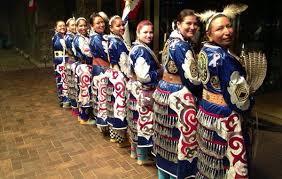 native american women warriors celebrate inauguration while