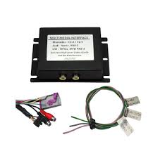 rns e audi logic audio interface for audi rns e with rear view