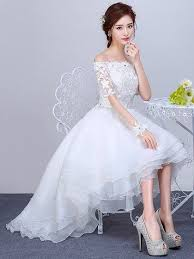 high low wedding dress with sleeves 8 best high low wedding dresses images on wedding