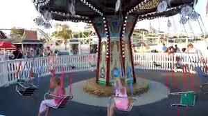 kiddie kid child swing amusement park carnival ride myrtle beach