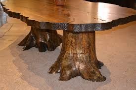 lodge dining table cabin dining tables rustic dining tree