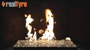 real fyre clear diamond nuggets live burn video u2013 efireplacestore