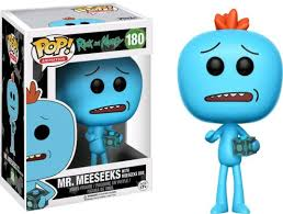 Barnes And Noble Marketplace Pop Animation Rick And Morty Mr Meeseeks Box 889698124980