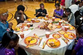 nfl yet 2013 thanksgiving dinner gwen cherry park foundation
