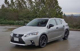 first lexus model 2016 lexus ct 200h f sport special edition road test review