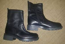womens black leather boots canada vans s boots ebay