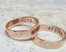 couples wedding rings couples wedding ring etsy