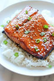 sesame salmon damn delicious