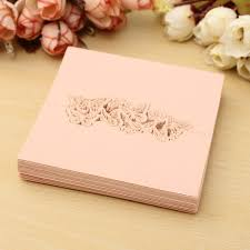 50pcs laser cut butterfly table name place card recycled paper for