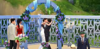 wedding arches on sims 3 weddings in the sims 4 get married