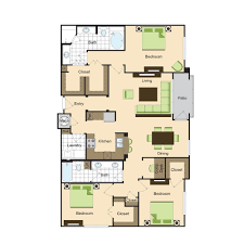 3 bedroom 2 bath floor plans floor plans phipps place luxury buckhead apartments in the atlanta