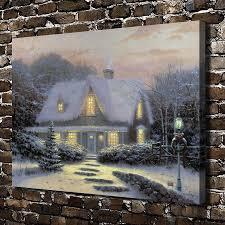 online get cheap thomas kinkade christmas aliexpress com