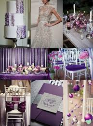Purple And Silver Wedding Purple And Silver Wedding Colour Scheme The Wedding Community Blog