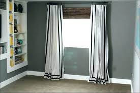 Navy And White Striped Curtains Black And White Horizontal Striped Curtains Icedteafairy Club