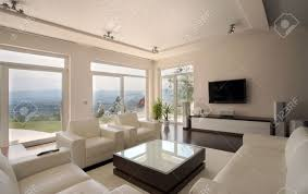 Modern House Furniture Modern House Interior Large And Expensive House Architecture