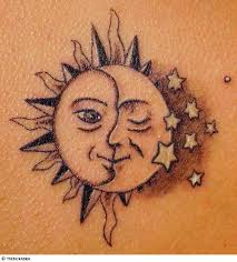 exquisite sun and moon design inspiration tattoomagz