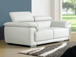 canapé blanc cuir articles with canape simili cuir blanc ikea tag canape simili cuir