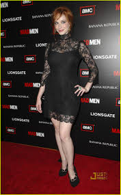 christina hendricks mad men premiere party photo 2468003