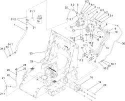toro parts u2013 tx 525 compact utility loader