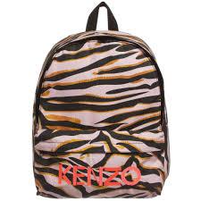 kids tiger print backpack 37cm childrensalon