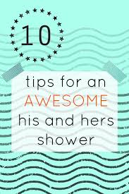 coed bridal shower 10 tips for a successful co ed wedding shower
