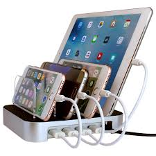 amazon com simicore usb charging station dock u0026 charging stand