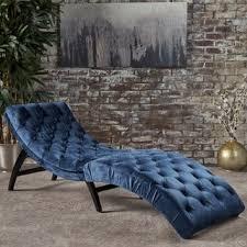 Velvet Chaise Lounge Garret Tufted Velvet Chaise Lounge By Christopher Home