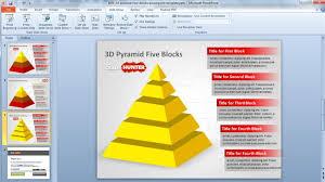 pyramid template powerpoint animated segmented pyramid diagrams