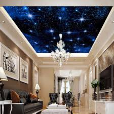 3d Wallpaper For Living Room by 3d Night Sky Wallpaper Reviews Online Shopping 3d Night Sky