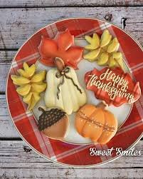 63 best thanksgiving cookies images on fall cookies